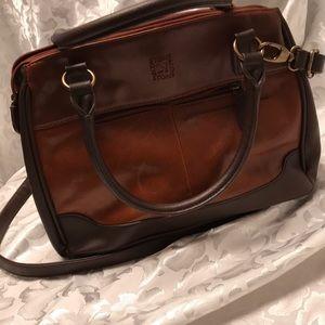 NWOT Stone Mountain leather satchel purse